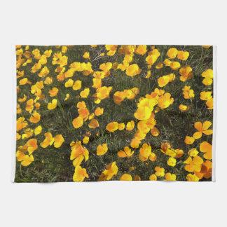 Explosión de la primavera toalla de mano