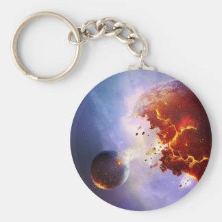 Explosión de la supernova llaveros personalizados