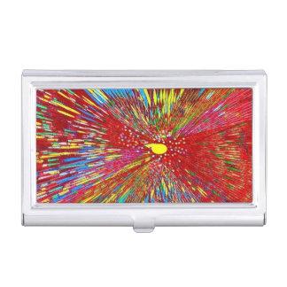 Explosión de Sun Cajas De Tarjetas De Presentación