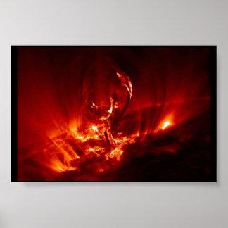 Explosión de Sun Póster