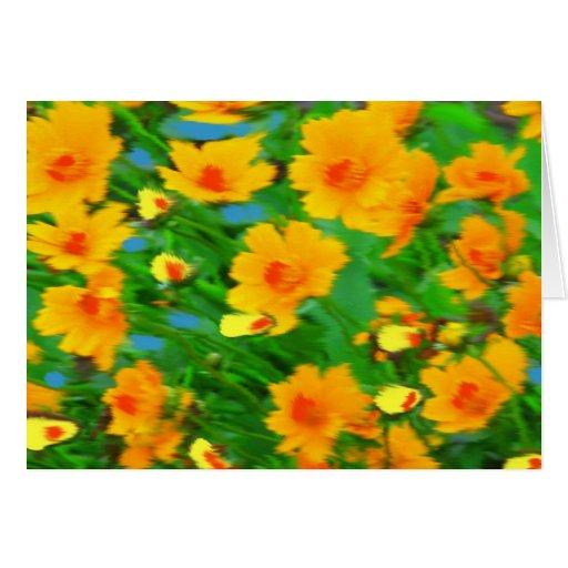 Explosión del amarillo tarjeton
