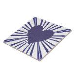 Explosión del amor (púrpura) teja cerámica