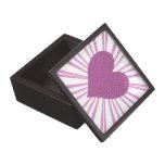 Explosión del amor (rosa) caja de joyas de calidad