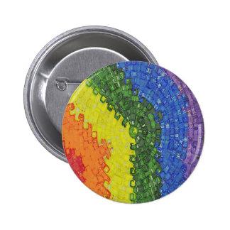 Explosión del arco iris pin