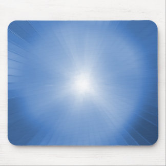 Explosión del azul de Mousepad ligero