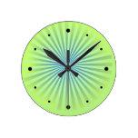 Explosión del azul relojes