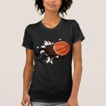 Explosión del baloncesto camiseta