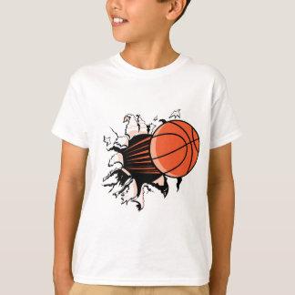 Explosión del baloncesto playera