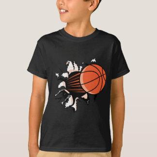 Explosión del baloncesto playeras