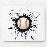 Explosión del béisbol tapete de raton