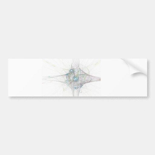explosión del bing del fractal. universo abstracto etiqueta de parachoque
