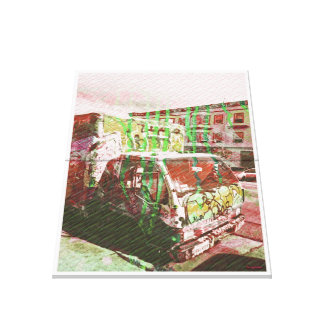 Explosión del Camión-UNo-Licious (amor de la pinta Impresión En Lienzo Estirada