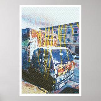 Explosión del Camión-UNo-Licious (amor de la pinta Poster