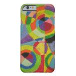 Explosión del color de Roberto Delaunay Funda Para iPhone 6 Barely There