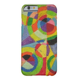 Explosión del color de Roberto Delaunay Funda De iPhone 6 Barely There
