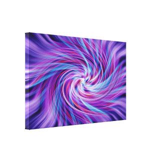 Explosión del color lona estirada galerías