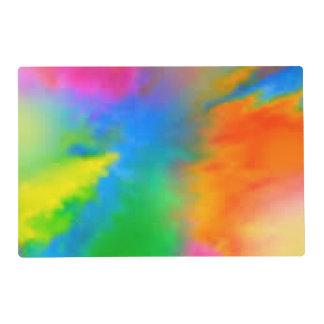 Explosión del color salvamanteles