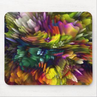 Explosión del color tapetes de raton