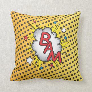 Explosión del cómic, almohada del Bam