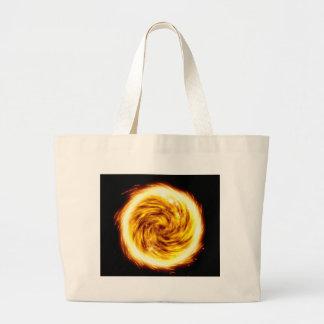 Explosión del fuego bolsa de tela grande