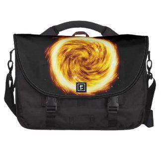 Explosión del fuego bolsa para ordenador