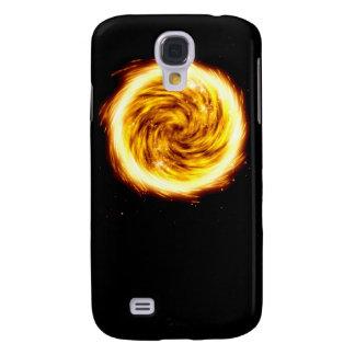 Explosión del fuego carcasa para galaxy s4