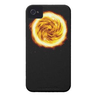 Explosión del fuego carcasa para iPhone 4