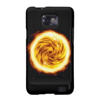 Explosión del fuego carcasa para samsung galaxy s2