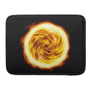 Explosión del fuego funda para macbooks