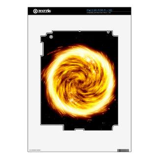 Explosión del fuego skins para eliPad 2