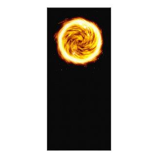 Explosión del fuego tarjetas publicitarias personalizadas