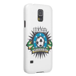 Explosión del fútbol del Brasil Funda Galaxy S5