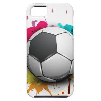 Explosión del fútbol iPhone 5 Case-Mate protectores