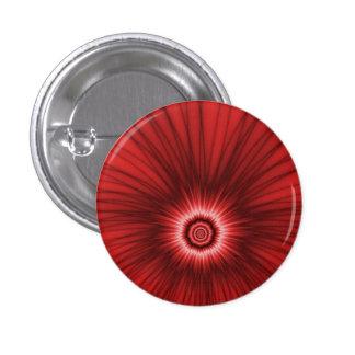 Explosión del rojo   del botón de Pinback Pin Redondo De 1 Pulgada