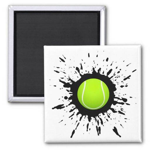 Explosión del tenis iman de frigorífico