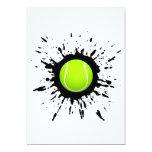 Explosión del tenis invitación