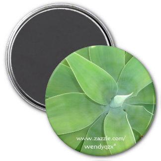 Explosión del verde imán redondo 7 cm