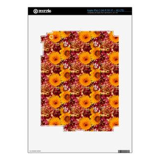 Explosión del Zinnia Pegatinas Skins Para iPad 3