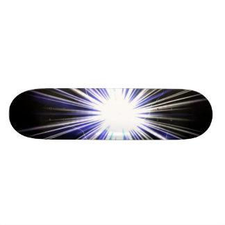 Explosión eléctrica de la estrella del relámpago tablas de patinar
