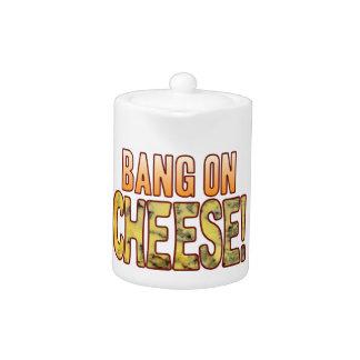 Explosión en el queso verde