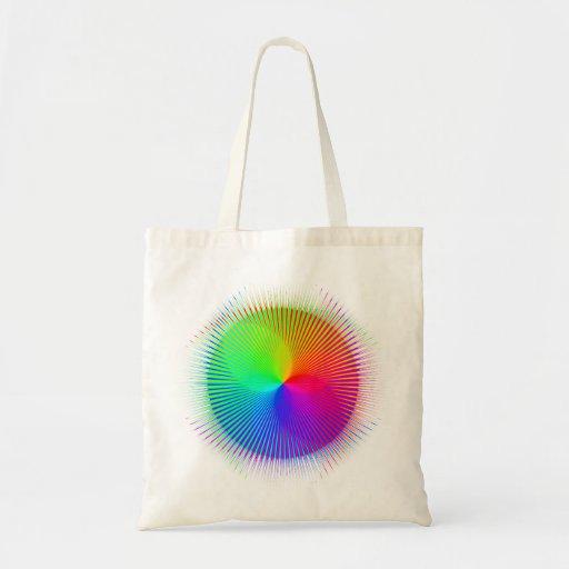 Explosión espectral #1 bolsas de mano