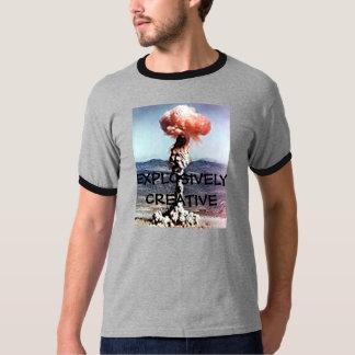 Explosion, EXPLOSIVELYCREATIVE T-shirt