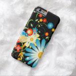 Explosión floral del color funda de iPhone 6 barely there
