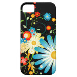 Explosión floral del color iPhone 5 carcasas