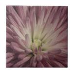 Explosión floral púrpura teja  ceramica