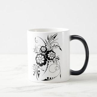 Explosión floral… taza mágica