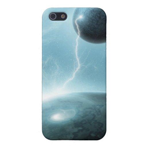 Explosión galáctica iPhone 5 cobertura