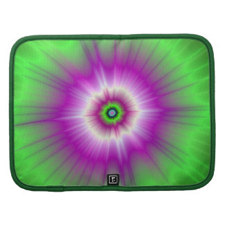 Explosion in Purple and Green Planners