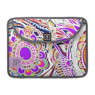 """Explosión MacBook Pro 13"""" de Sun de la pintada Funda Para Macbooks"""