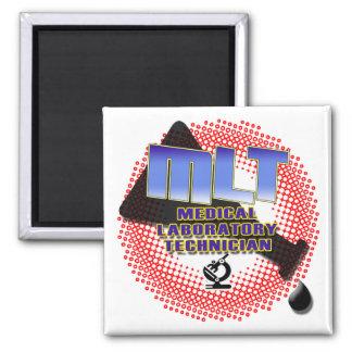 EXPLOSION MLT Medical Laboratory Technologist Magnet
